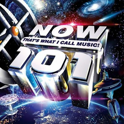 NOW THATS WHAT I CALL MUSIC 101 (Various Artists) 2 CD SET (November 23rd 2018)