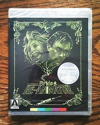 Bride of Re-Animator Blu-Ray DVD NEW Sealed Arrow US Special Edition OOP