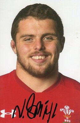 Nicky Smith - Wales Rugby - Signed 6X4 Photo