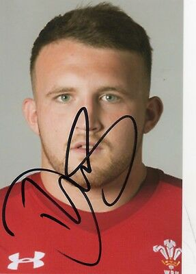 Dillon Lewis - Wales Rugby - Signed 6X4 Photo