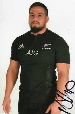 Kane Hames - All Blacks New Zealand Rugby - Signed 6X4 Photo