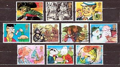 QEII 1993 Greetings stamps Gift Giving used set (j209)