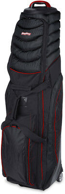 BagBoy T-2000 Pivot Grip Travel Cover Black/Red
