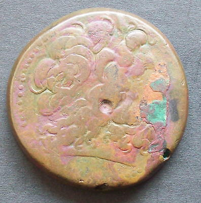 Greek Coin: PTOLEMAIC AE46, weight of 94.44g . Huge piece