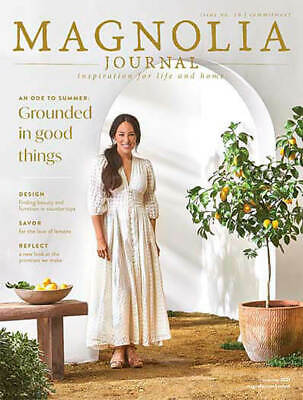 The Magnolia Journal Magazine Subscription Preorder of 4 issues