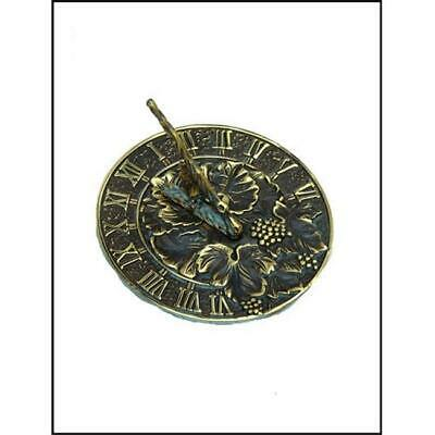 Rome Industries 2306 Brass Grapevine Sundial