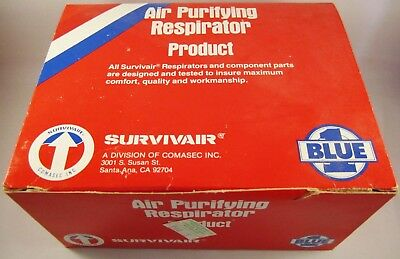 Survivair Half Mask Air Purifying Respirator MSHA/NIOSH Approved