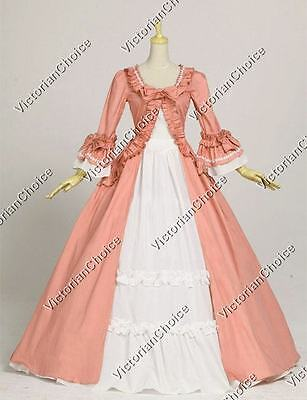 Renaissance Princess Pioneer Women Fancy Dress Christmas Ball Gown N 257 XXXL