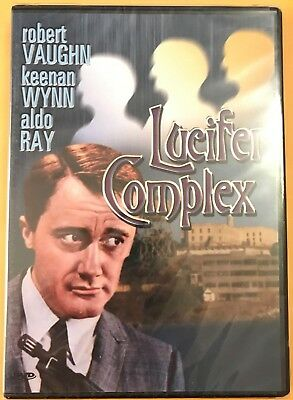 The Lucifer Complex (DVD, 1978) TV Movie Robert Vaughn Brand New Factory Sealed