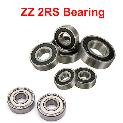 Deep Groove Ball Bearing Radial 6000~6304 Rubber/Metal Seal 2RS/ZZ-ALL SIZE