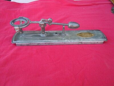 Vintage Antique Reliable Speed Accuracy Mfg Egg Scale Los Angeles, California