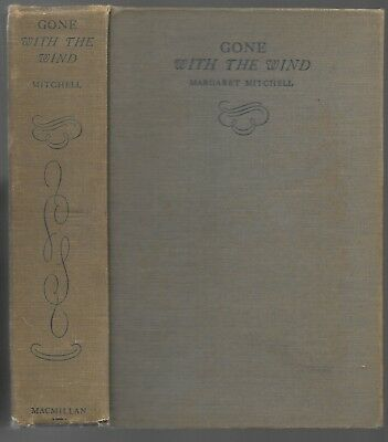 Gone With the Wind by Margaret Mitchell-1936 first edition, sixth printing