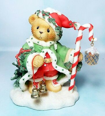 Enesco Cherished Teddies Wolfgang The Spirit of Christmas is In All of Us