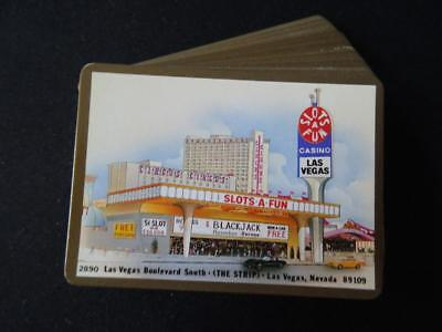 Vintage 1990s Pack of Playing Cards - Slots a Fun Casino Las Vegas Circus Circus