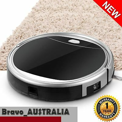 Robot Vacuum Cleaner Automatic Robotic Floor Sweeper Dry Wet Mopping Recharge