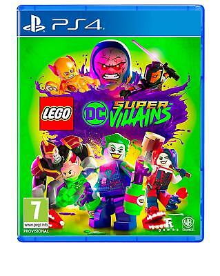LEGO DC Super Villains  - PS4 Playstation 4 Spiel - NEU OVP