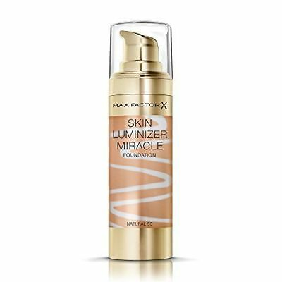 Max Factor Skin Luminizer Miracle Foundation | Natural 50 | Healthy Glow