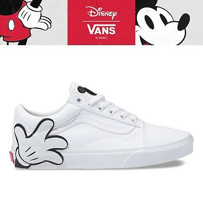 b2534ac46340 New VANS X DISNEY Old Skool Mickey Mouse 90th Collection Unisex Sneakers -  White