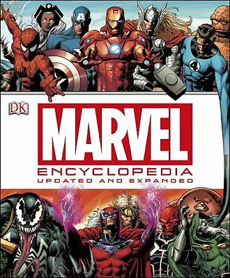 Marvel Encyclopedia New Hardcover Book DK