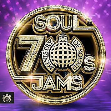 70s Soul Jams - Ministry Of Sound - Various (NEW 3CD)
