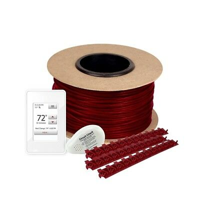 WarmlyYours 70 ft. Floor Heating Kit Tempzone Cable