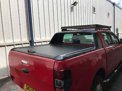Armadillo Style Roll & Lock Tonneau Cover for Nissan Navara NP300 2015 onwards