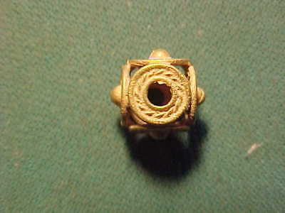 A rare  Sasanian gold decorative bead circa 224-642 AD