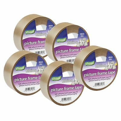 ULTRATAPE Picture Frame Tape 48mm x 33m NEW (5 Pack)