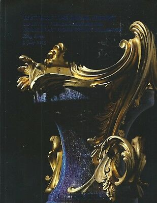 CHRISTIE'S TASTE OF ROYAL COURT French Furniture Porcelain Private Coll Catalog