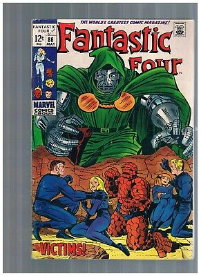 Fantastic Four  #86 MAY 1969 DR DOOM SILVER AGE F/VF...MORE AUCTIONS