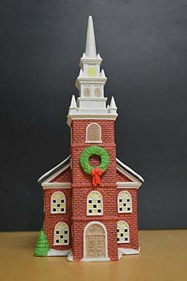 Retired Dept 56 New England Village - Old North Church - Mint in Box