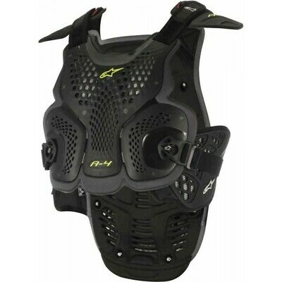 Alpinestars A-4 Black Anthracite Chest Protector