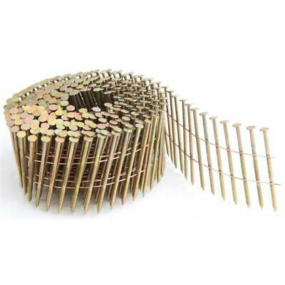 Freeman SNRSG92-25WC .92 in. 2 .5 in. Coil Siding Nail - Wire Collated - Ring...