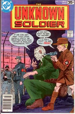UNKNOWN SOLDIER 213 VF-NM March 1978 COMICS BOOK