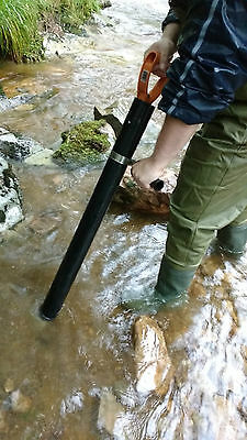 Deluxe Gold Panning Hand Dredge Gold Mining Gravel Pump With Handle And Endcap
