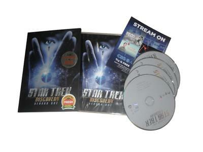 Star Trek  Discovery: The First Season One 1 (DVD, 4-Disc Set) New Free Shipping