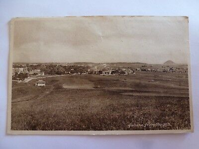Vintage Postcard Gullane From The Hill 1918 (M)