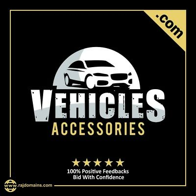 VehiclesAccessories.com 2 words premium keyword automobile store domain name