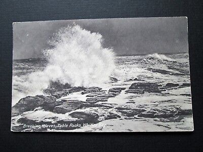 BREAKING WAVES, TABLE ROCKS, WHITLEY BAY - PHILCO PUBLISHING CO No 2802 (1913)