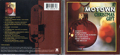 Motown Legends: A Christmas Gift by Various Artists (CD, 1994, PGD) #CHR178