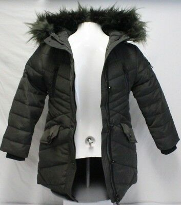6dcce82c8 *NEW* DIESEL KIDS Girl's Parka Insulated Jacket Removable Faux Fur