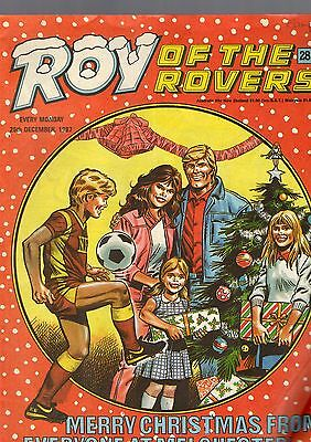 (-0-) Roy Of The Rovers Comic 26Th December 1987