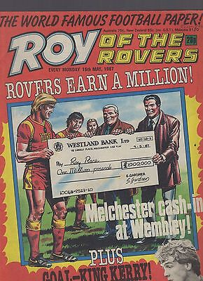 (-0-) ROY OF THE ROVERS COMIC 16th May 1987