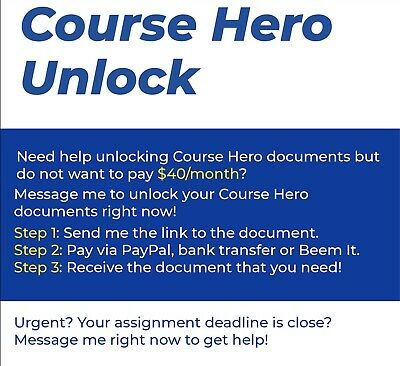 Course Hero Unlock (CourseHero)