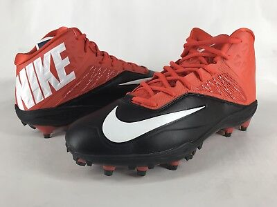 the latest 9343f 29fbe Nike Zoom Code Elite TD 3 4 Football Cleats Orange 603368-008 Sz 11.5