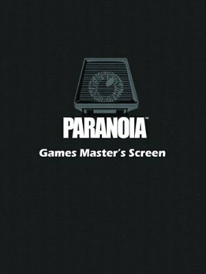 Games Masters Screen (Paranoia) Book The Cheap Fast Free Post