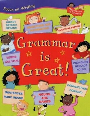 FOW GRAMMAR IS GREAT (Focus on Writing) by Thomson, Ruth Hardback Book The Cheap