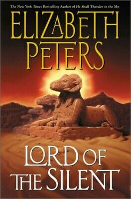 Lord of the Silent by Peters, Elizabeth Hardback Book The Cheap Fast Free Post