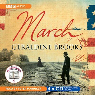 March (BBC Audio) by Brooks, Geraldine CD-Audio Book The Cheap Fast Free Post