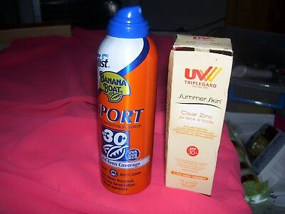Banana Boat Fast And Even Coverage  Plus Uv Triple Gard And Free Gift